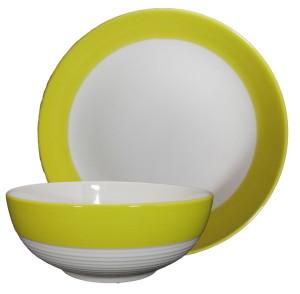 ชุดจานชามลายเส้น -2 Piece Dinnerware sets02