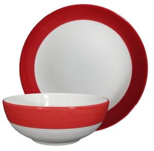 ชุดจานชามลายเส้น -2 Piece Dinnerware sets03