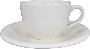 ชุดแก้วกาแฟขาว