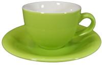 ชุดกาแฟจานรองเขียว 200 cc.