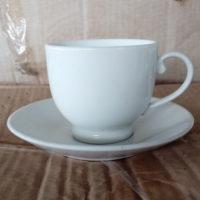 ชุดกาแฟขาว 200 cc.Porcelain