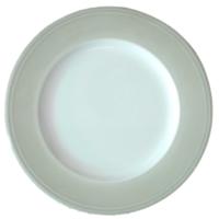 Rimmed Dinner Plate 10.5″ Grey