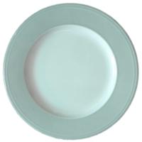 Rimmed Dinner Plate 10.5″ Blue