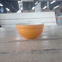 ชามลายคลื่น 3″ สีส้ม